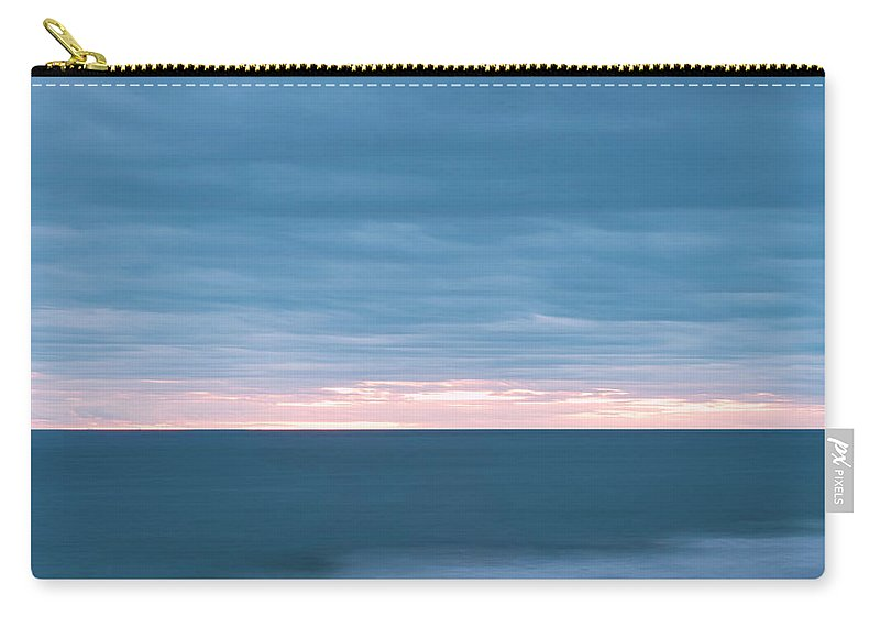 Sunrise Carry-all Pouch featuring the photograph Blue Hour 5011 by Jean-Pierre Ducondi