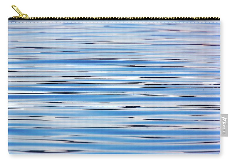 Ocean Carry-all Pouch featuring the photograph Blue Water Abstract 8621 by Brian Knott Photography