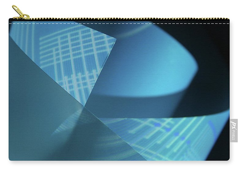 Curve Carry-all Pouch featuring the photograph Blueprint by Penfold