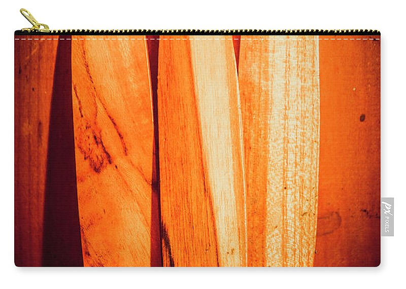 Summer Carry-all Pouch featuring the photograph Boarding House by Jorgo Photography - Wall Art Gallery
