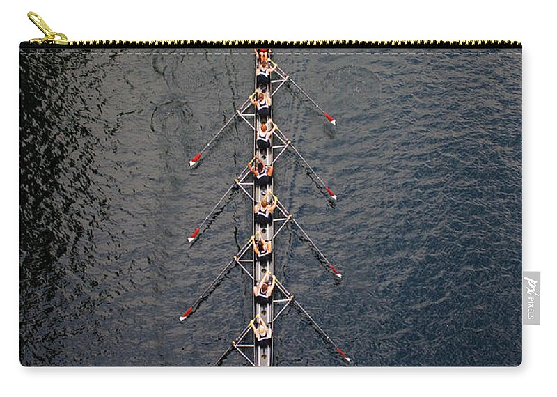 Viewpoint Carry-all Pouch featuring the photograph Boat Race by Fuse