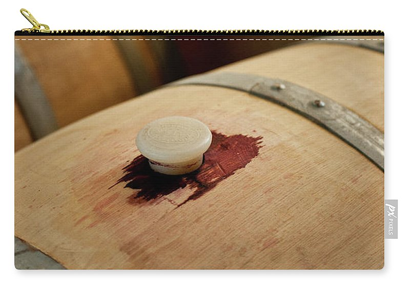 Spanish Basque Country Carry-all Pouch featuring the photograph Bodegas Ysios Wine Cellar, Detail by Maremagnum