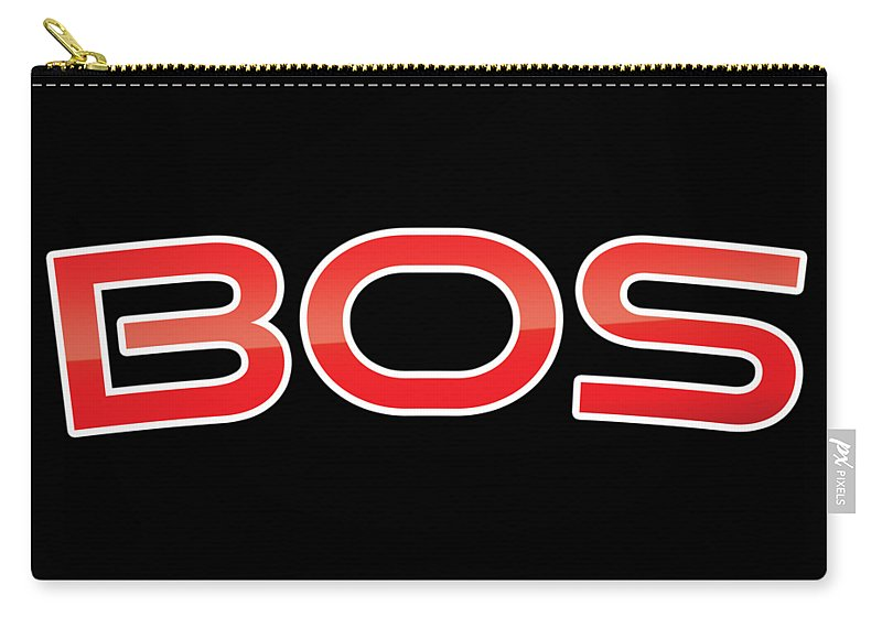Bos Carry-all Pouch featuring the digital art Bos by TintoDesigns
