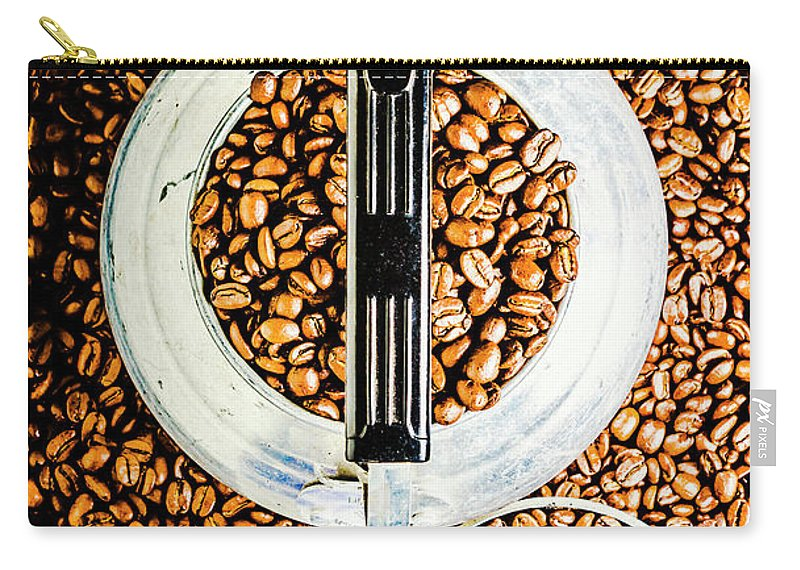 Coffee Carry-all Pouch featuring the photograph Bottomless Refills by Jorgo Photography - Wall Art Gallery