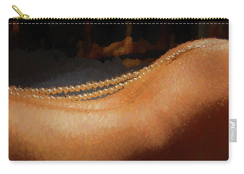 Pearls Carry-all Pouch featuring the photograph Brennan Hill Pearls 3 by Mike Penney