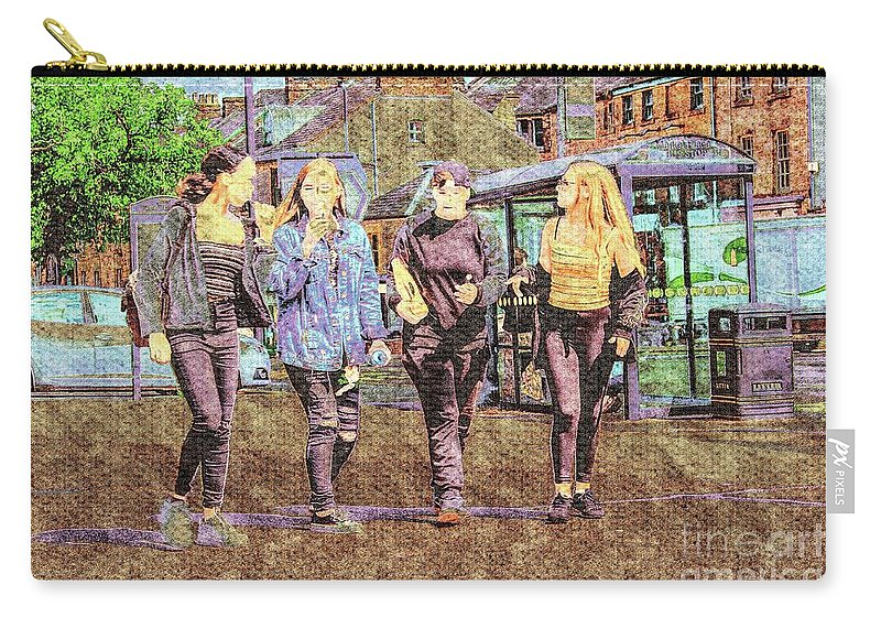Innocence Carry-all Pouch featuring the photograph Buxton Innocence. by Nigel Dudson
