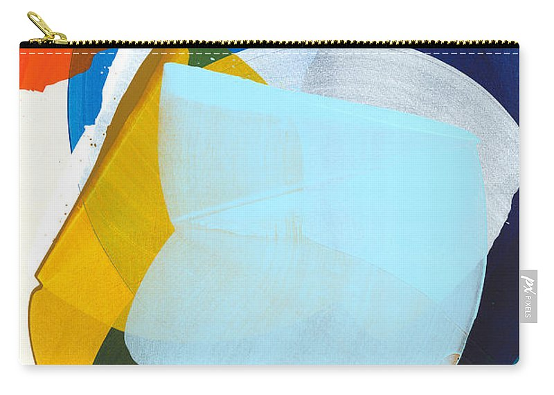 Abstract Carry-all Pouch featuring the painting California 05 by Claire Desjardins