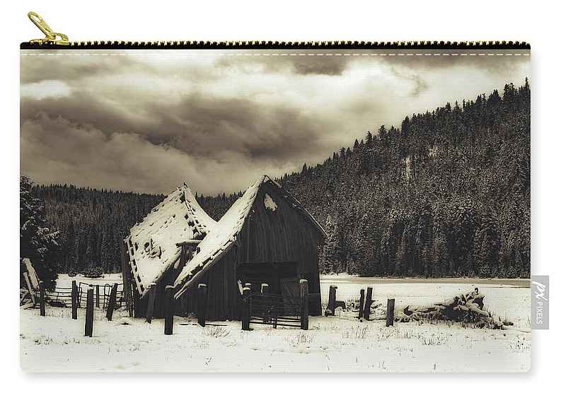California Carry-all Pouch featuring the photograph California Blizzard by Mountain Dreams