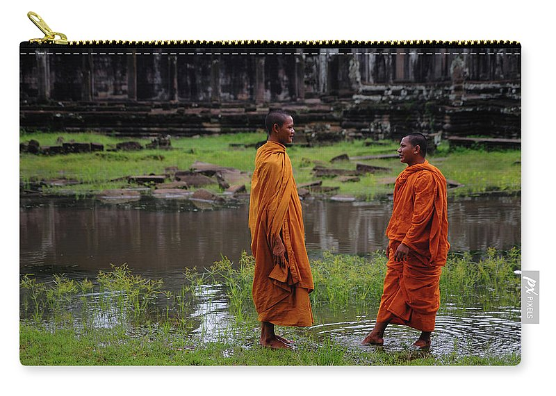 Southeast Asia Carry-all Pouch featuring the photograph Cambodia by Rawpixel