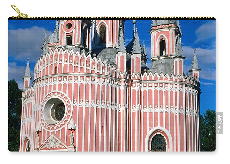 Gothic Style Carry-all Pouch featuring the photograph Candy Stripes Of Chesma Church, St by Lonely Planet