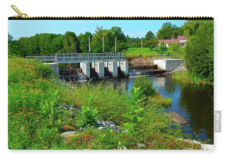 Landscape Carry-all Pouch featuring the photograph Canton Central 1 by George Ramos