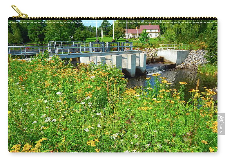 Landscape Carry-all Pouch featuring the photograph Canton Central 3 by George Ramos