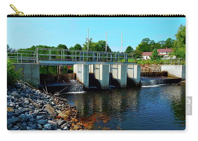 Landscape Carry-all Pouch featuring the photograph Canton Central 7 by George Ramos