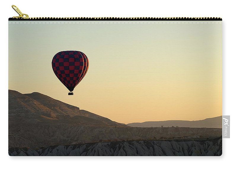 Scenics Carry-all Pouch featuring the photograph Cappadocia Valley by Julian Kaesler