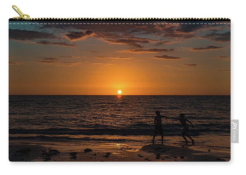 Kids Carry-all Pouch featuring the photograph Carefree Days Of Summer by Ann Marie DiLorenzo