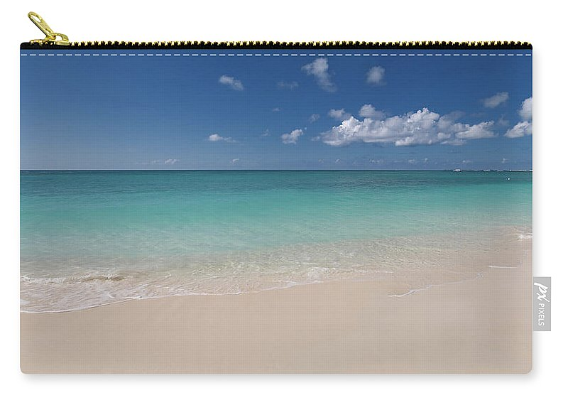 Cayman Islands Carry-all Pouch featuring the photograph Caribbean Paradise - Beach by Dragansaponjic