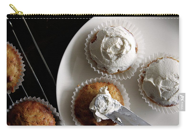 Unhealthy Eating Carry-all Pouch featuring the photograph Carrot Cakes by Quilie