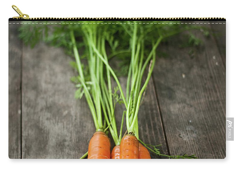 Bulgaria Carry-all Pouch featuring the photograph Carrot by Kemi H Photography