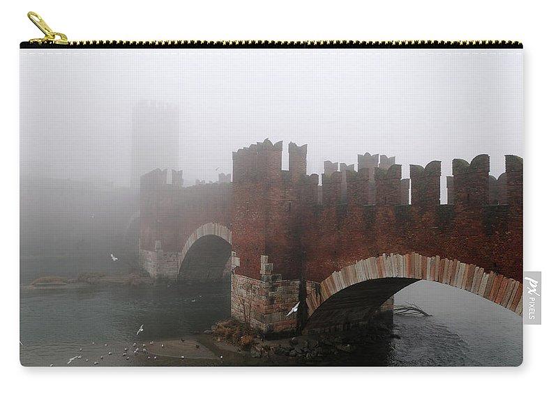 Arch Carry-all Pouch featuring the photograph Castelvecchio Bridge by Stefano Zuliani Photo