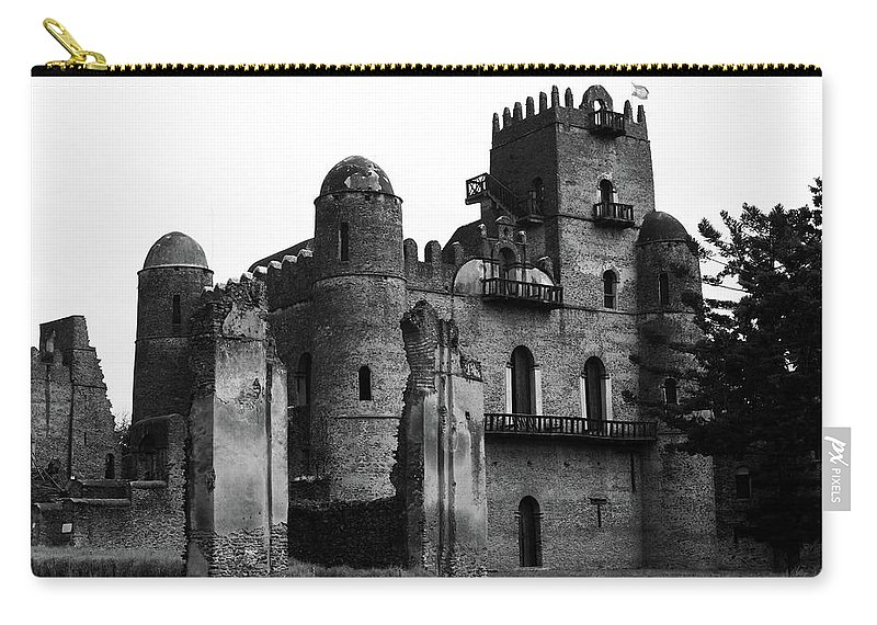 Africa Carry-all Pouch featuring the photograph Castles Of Gondar, Ethiopia by Aidan Moran