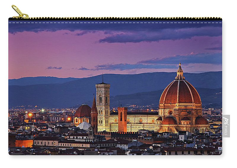 Outdoors Carry-all Pouch featuring the photograph Cattedrale Di Santa Maria Del Fiore - by Www.matteorinaldi.it