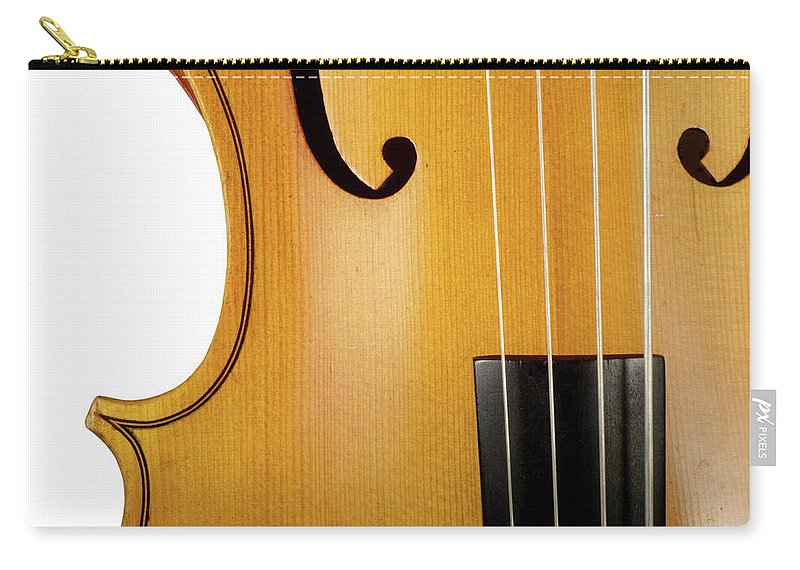 Classical Orchestral Music Carry-all Pouch featuring the photograph Cello by Hiob