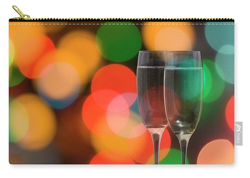 Focus Carry-all Pouch featuring the photograph Champagne by Deejpilot