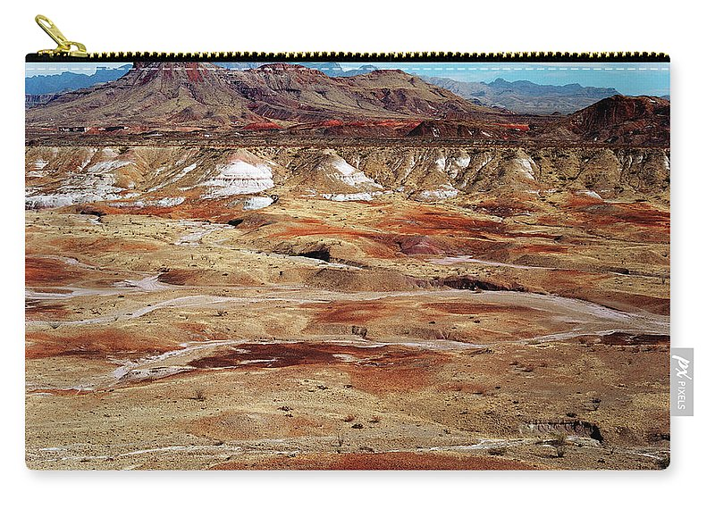 Tranquility Carry-all Pouch featuring the photograph Chihuahuan Desert, Big Bend N.p by Oleg Moiseyenko