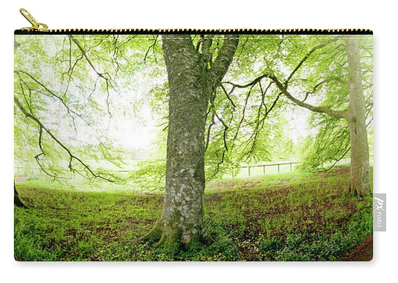 Panoramic Carry-all Pouch featuring the photograph Choice, Which Path To Take by Kathy Collins