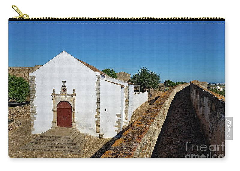 Chapel Carry-all Pouch featuring the photograph Church Of Misericordia In Medieval Castle by Angelo DeVal