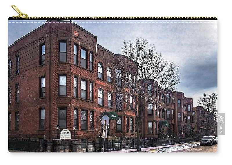 Minneapolis Carry-all Pouch featuring the photograph Cityview Cooperative, Minneapolis by Joel Friedman