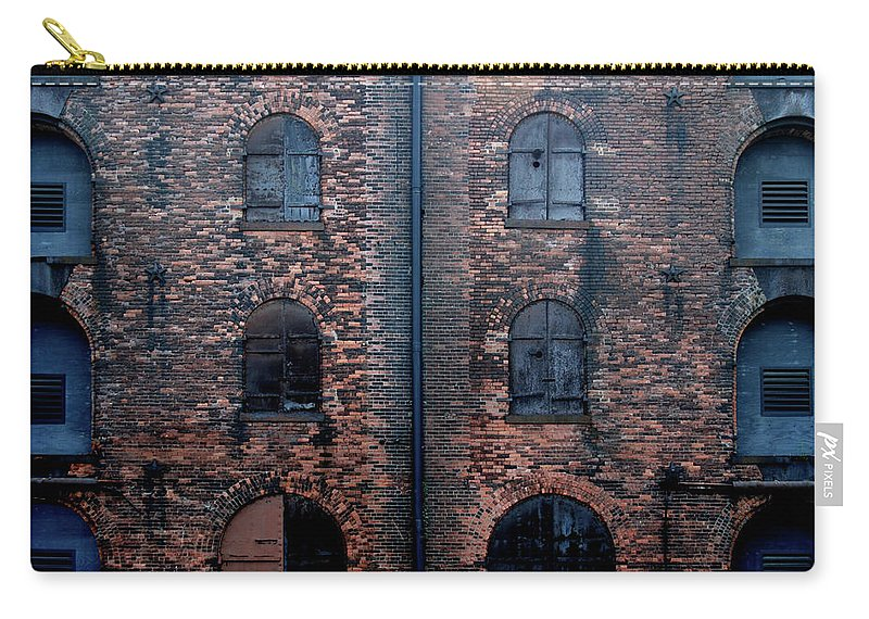Outdoors Carry-all Pouch featuring the photograph Civil War Era Spice Warehouse by © Rick Elkins