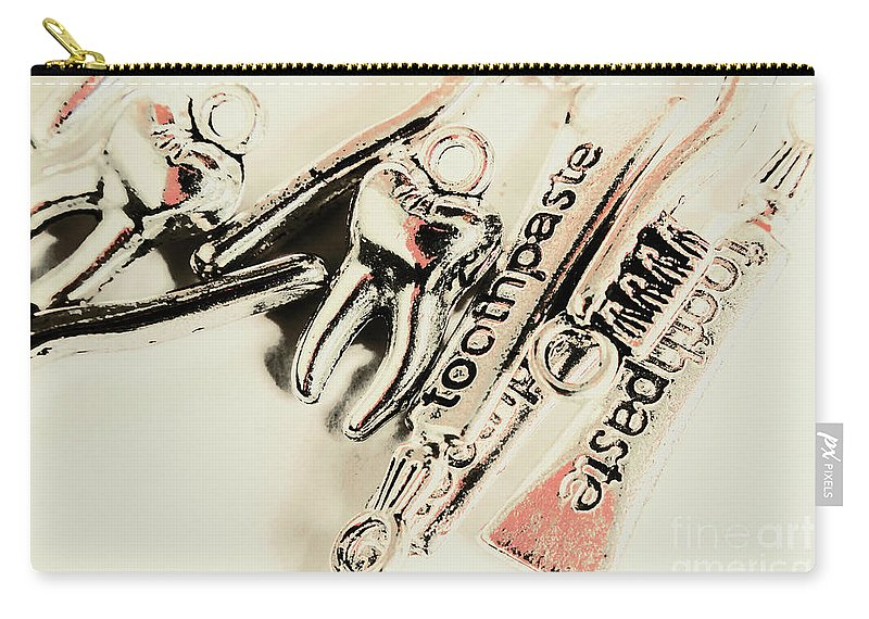 Dentistry Carry-all Pouch featuring the photograph Clinical Tooth Care by Jorgo Photography - Wall Art Gallery
