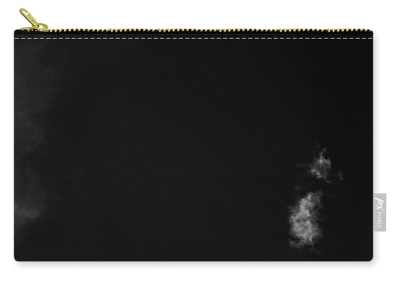 Greg Mimbs Carry-all Pouch featuring the photograph Clouds 23 In Black And White by Greg Mimbs