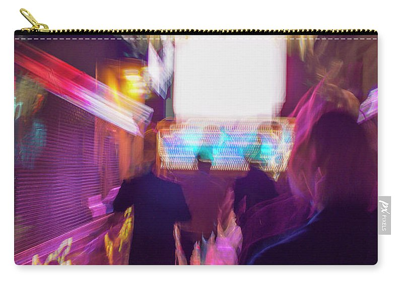 Club Carry-all Pouch featuring the photograph Clubbing On Arcturus Iv by Alex Lapidus