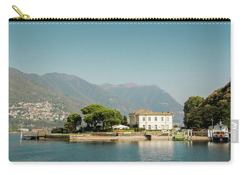 Coast Carry-all Pouch featuring the photograph Coast Of Como by Guillermo Lizondo
