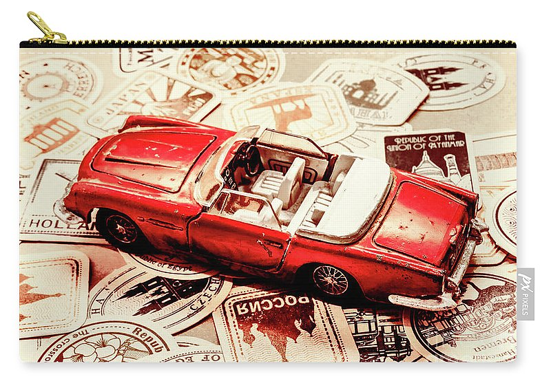 Retro Carry-all Pouch featuring the photograph Coasting Thru by Jorgo Photography - Wall Art Gallery