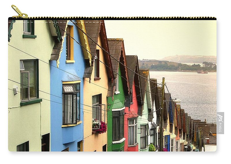 Electricity Pylon Carry-all Pouch featuring the photograph Cobh, Cork by Photo By Natale Carioni