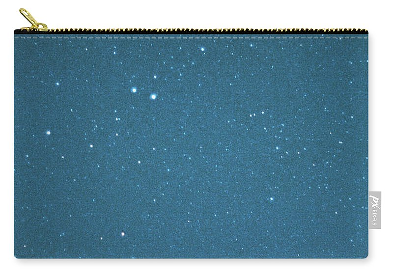 Comet Carry-all Pouch featuring the photograph Comet Iras-araki-alcock And Star by Digital Vision.