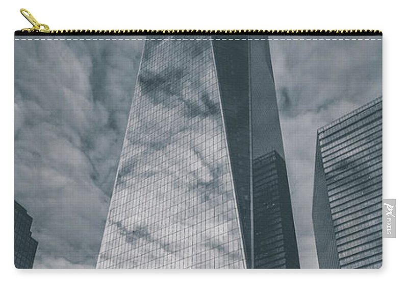 Nyc Carry-all Pouch featuring the photograph Contrast by Three 20 Arts