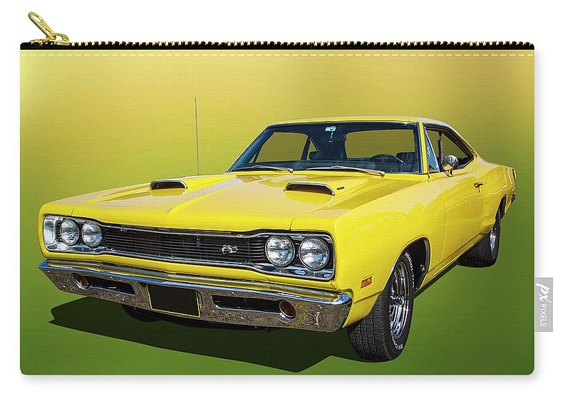 Car Carry-all Pouch featuring the photograph Coronet Super Bee by Keith Hawley