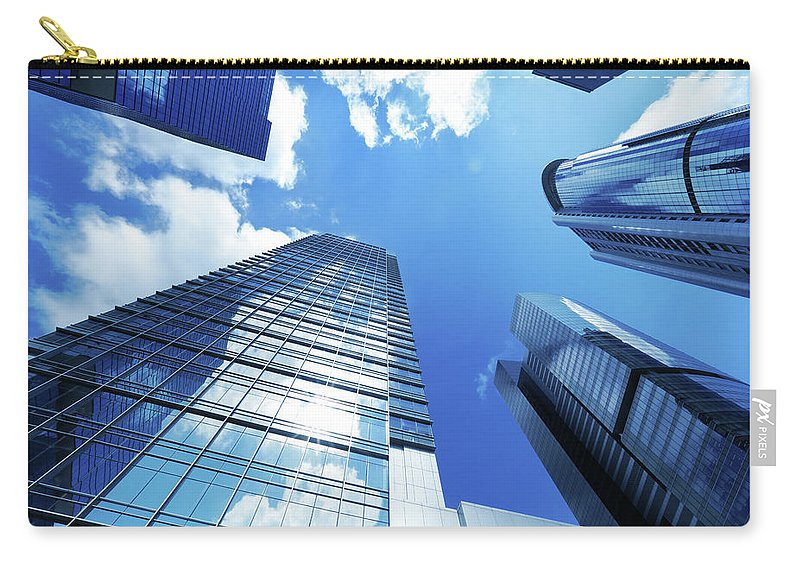 Corporate Business Carry-all Pouch featuring the photograph Corporate Building by Samxmeg