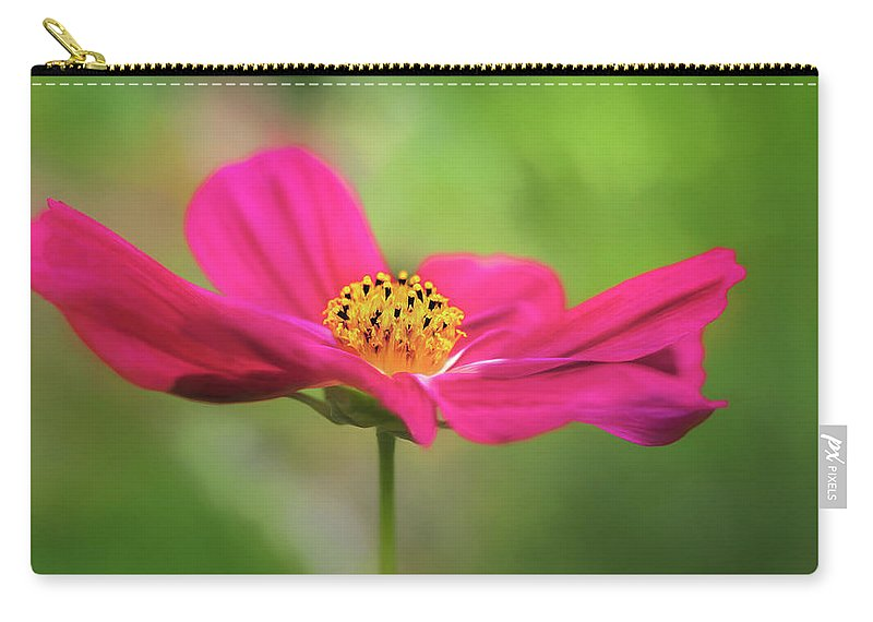 Flower Carry-all Pouch featuring the photograph Cosmo by S A Littau