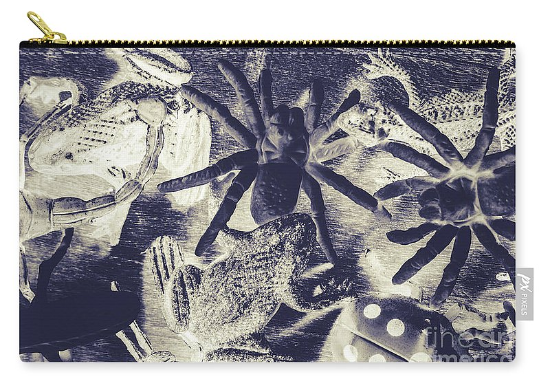 Wild Carry-all Pouch featuring the photograph Creatures Of The Night by Jorgo Photography - Wall Art Gallery