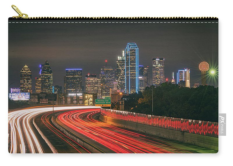 Dallas Carry-all Pouch featuring the photograph Dallas by Marybeth Kiczenski