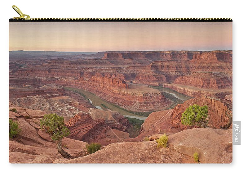 Scenics Carry-all Pouch featuring the photograph Dead Horse Point State Park, Utah by Enrique R. Aguirre Aves