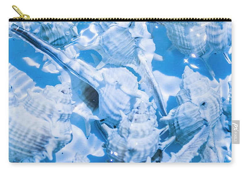 Blue Carry-all Pouch featuring the photograph Deep Blue by Jorgo Photography - Wall Art Gallery