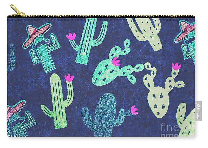 Desert Carry-all Pouch featuring the photograph Desert Nights by Jorgo Photography - Wall Art Gallery