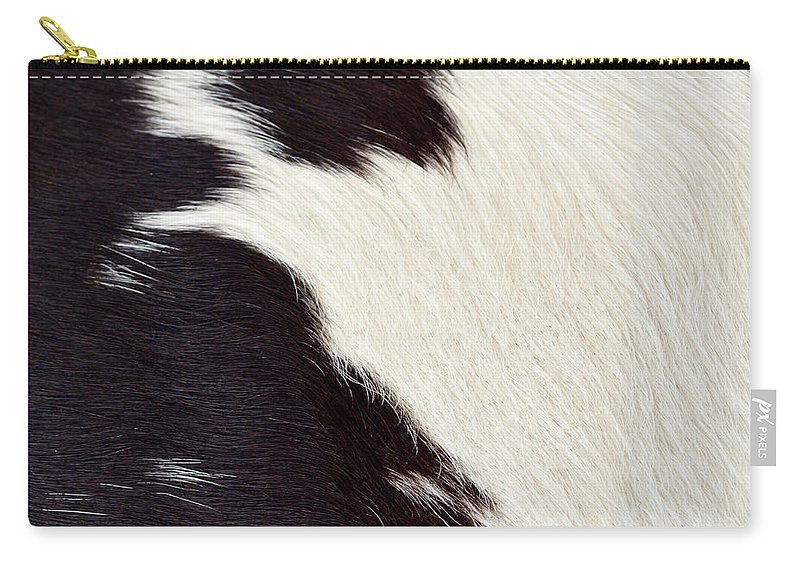 Animal Skin Carry-all Pouch featuring the photograph Designer Fur by Digiclicks