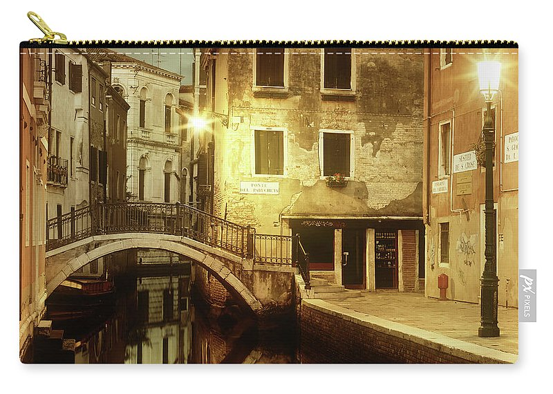 Empty Carry-all Pouch featuring the photograph Dreaming Venice by Mammuth